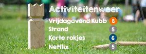 Kubb activiteitenweer