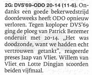 DVS'69-ODO in AD Waterweg